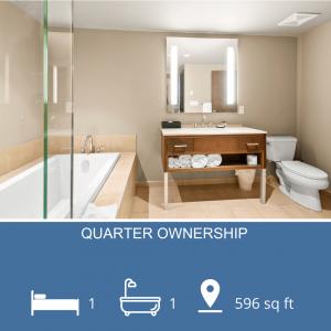 Spa Like Bathroom in Whistler Condo