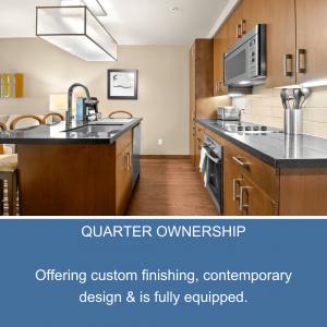 Whislter Condo Kitchen, whistler quarter ownership